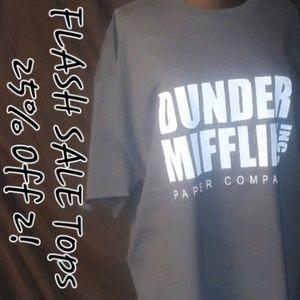 ** Dunder Mifflin, Inc Paper Company Graphic Tee